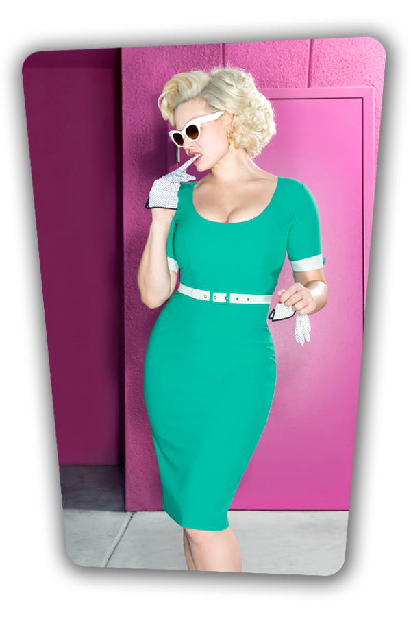 Annie Dress Turquoise