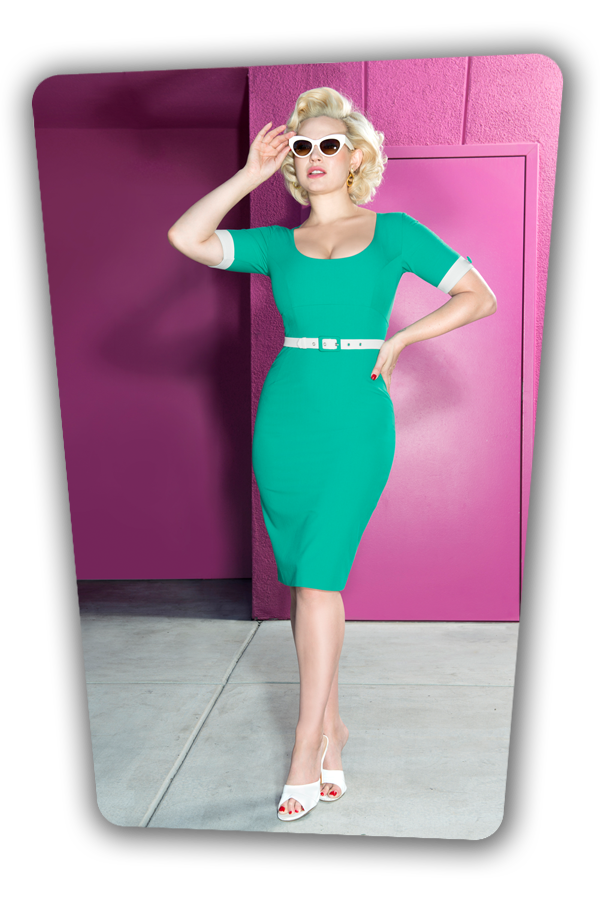 Annie Dress Turquoise_2