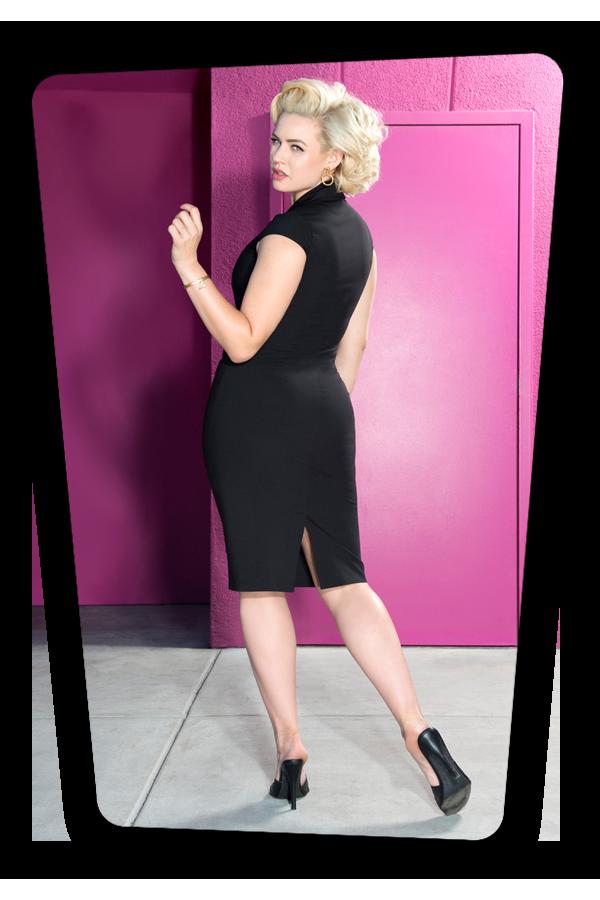 Emma Dress Black_2