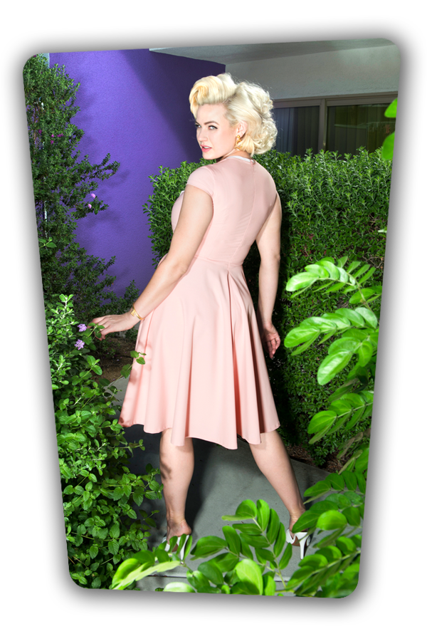 Karen Swing Dress in Pink_3