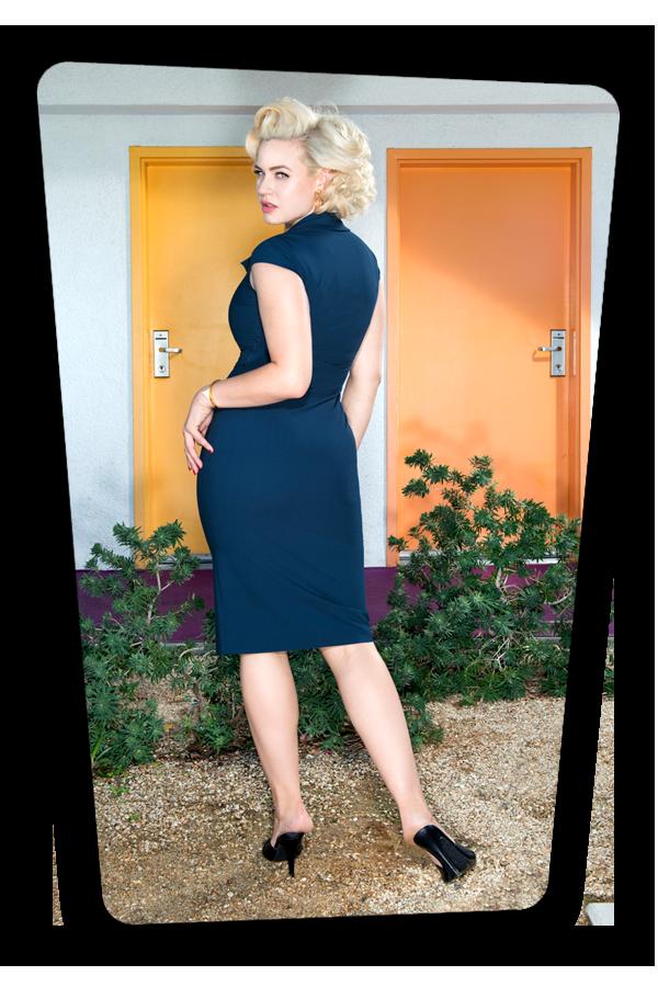 Lexy Dress Blue_2