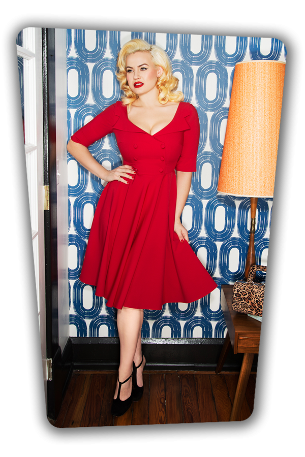 Glamour Bunny_Faith Shirt Swing Dress in Red_25739_20180625_0015