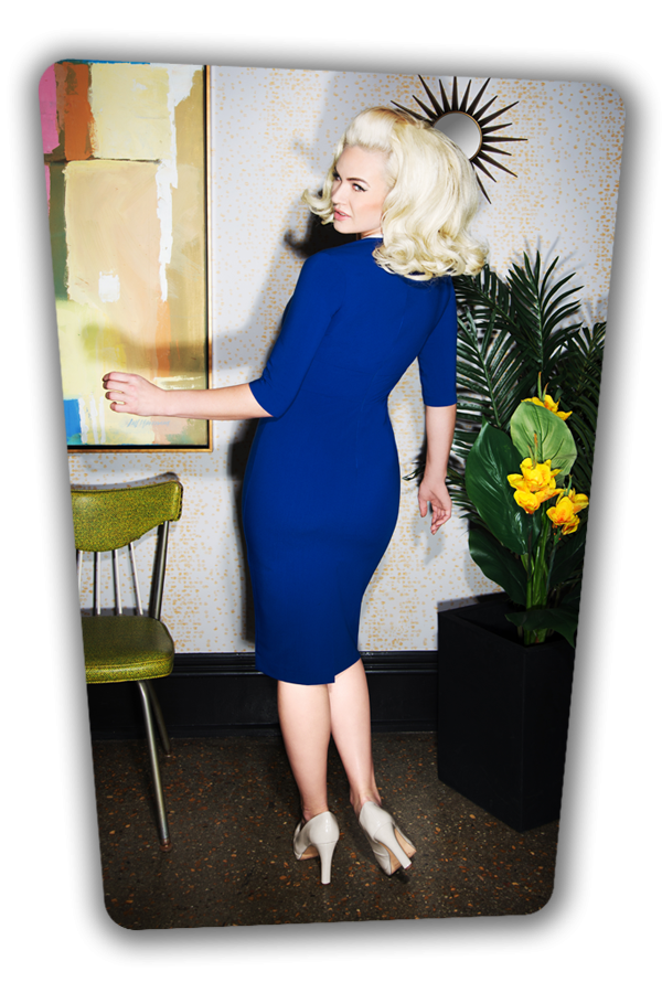 Glamour Bunny_Karen Pencil Dress in Blue_25747_20180619_01
