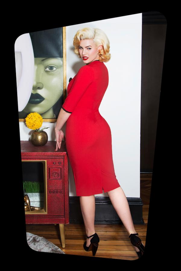 Glamour Bunny_Karen Pencil Dress in Red_25746_20180619_05