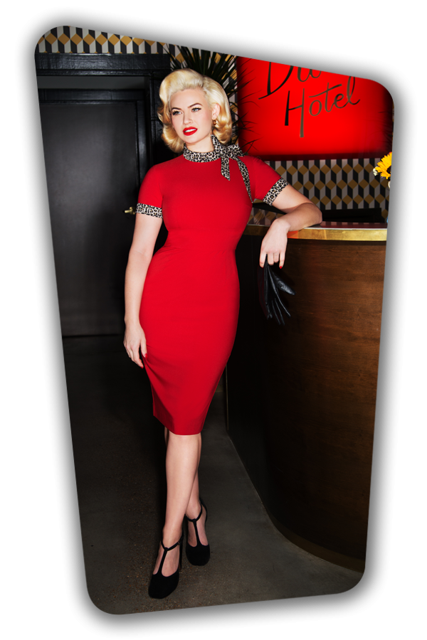 Glamour Bunny_Lucy Pencil Dress in Red_25754_20180625_06