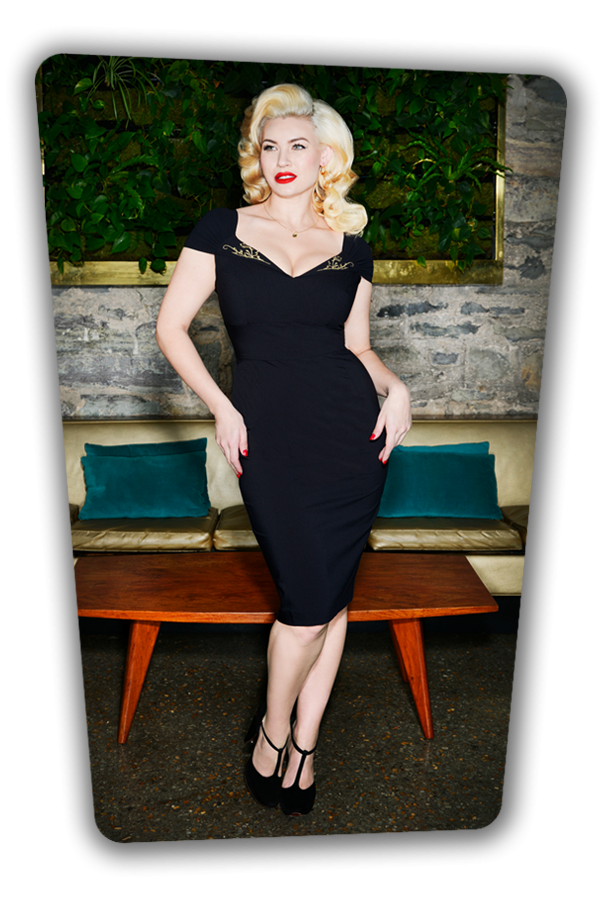 Glamour Bunny_Ruby Pencil Dress in Black_25759_20180622_01