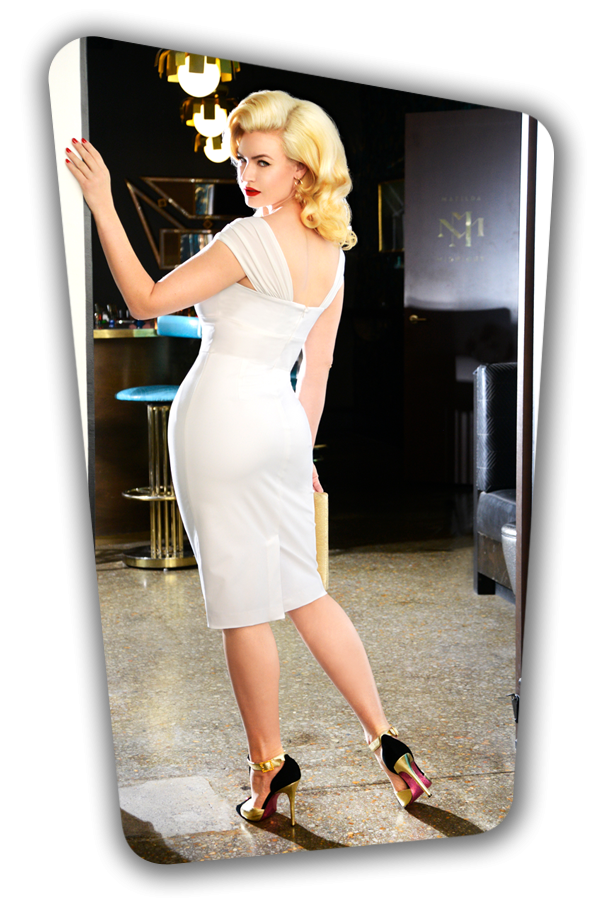 Glamour Bunny_Ruby Pencil Dress in White_25760_20180622_06