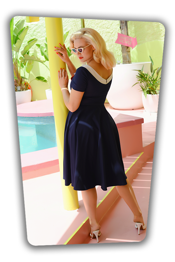 Audrey Swing Dress_2076S
