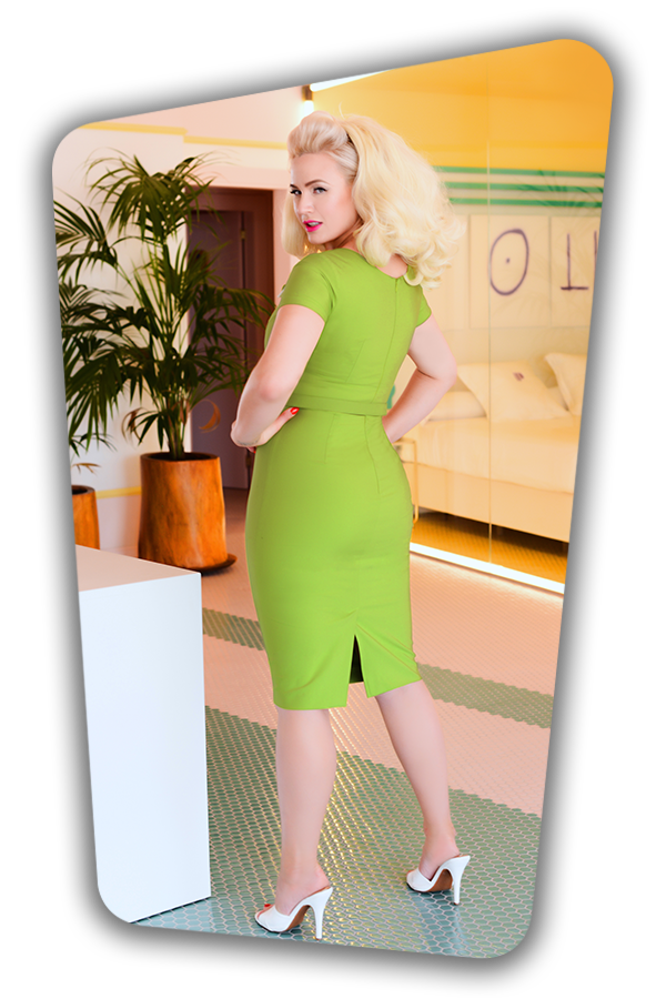 Jane Dress in Green_0908S