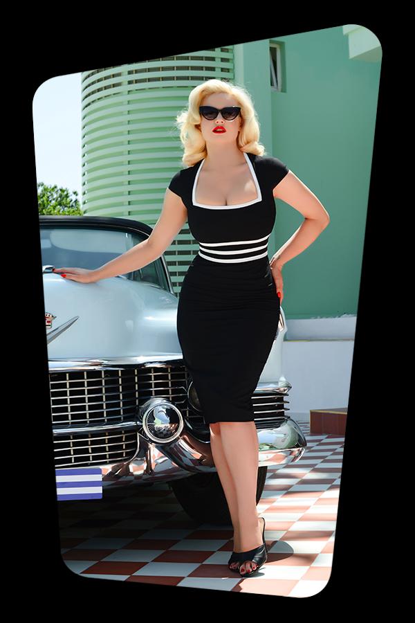 Stella Dress in Black_1098S