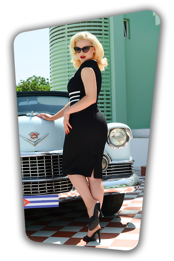 Stella Dress in Black_1107S