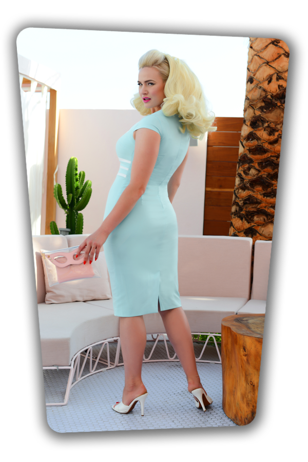 Stella Dress in Light Blue_2