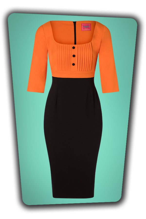 Glamour Bunny_29272_Nova Pencil Dress in Orange_20190328_003W