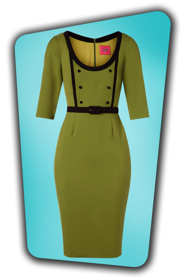 Glamour Bunny_29277_Minzy Pencil Dress in Green_20190403_002