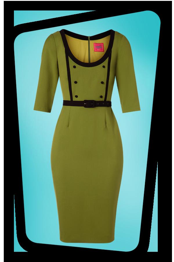Glamour Bunny_29277_Minzy Pencil Dress in Green_20190403_002
