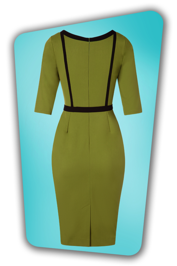 Glamour Bunny_29277_Minzy Pencil Dress in Green_20190403_007