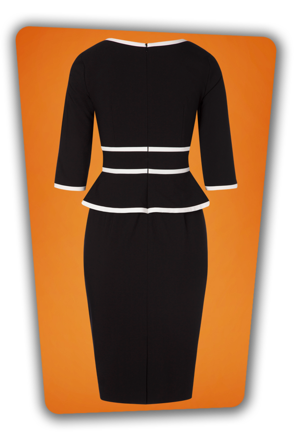 Glamour Bunny_29278_Charlotte Pencil Dress in Black_20190328_3