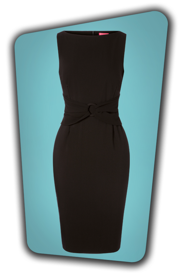 Glamour Bunny_29279_Whitney Pencil Dress in Black_20190328_005
