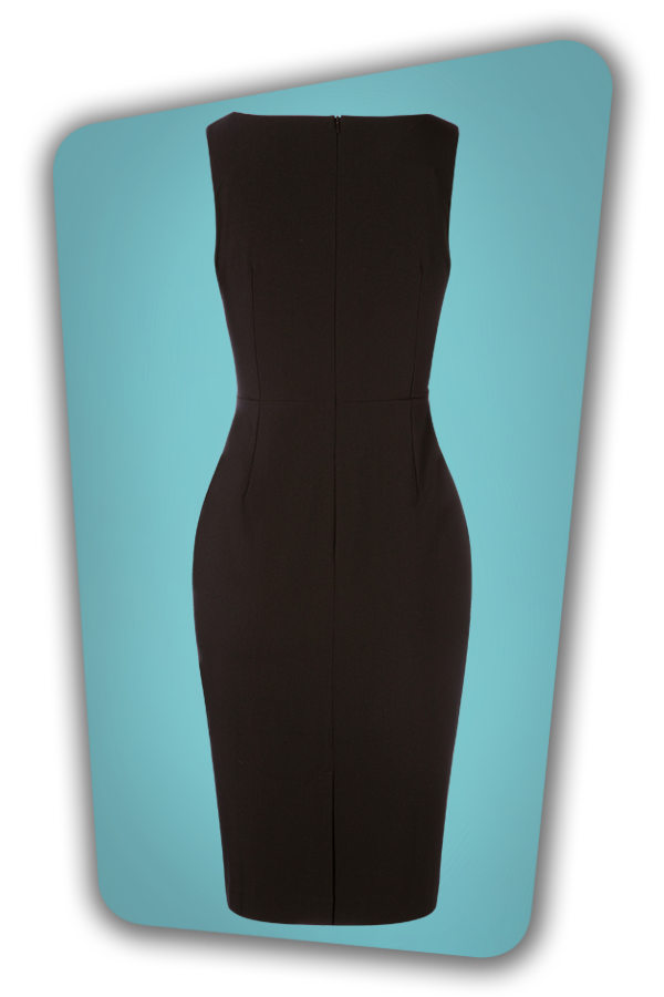 Glamour Bunny_29279_Whitney Pencil Dress in Black_20190328_006
