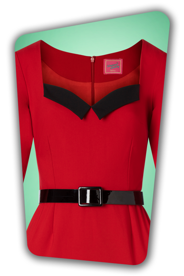 Glamour Bunny_29280_Harley Pencil Dress in Red_20190403_001V