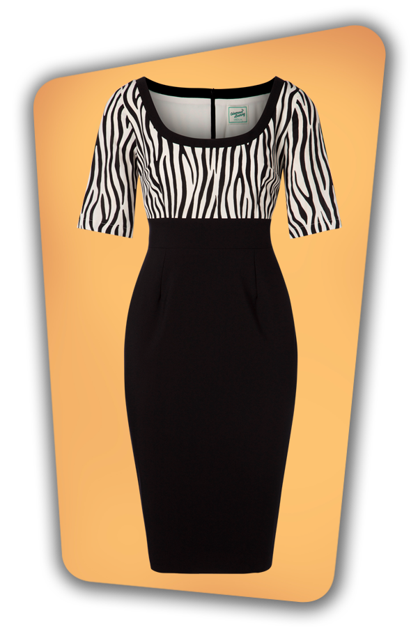 Glamour Bunny_29281_Gia Pencil Dress in Zebra_20190328_005