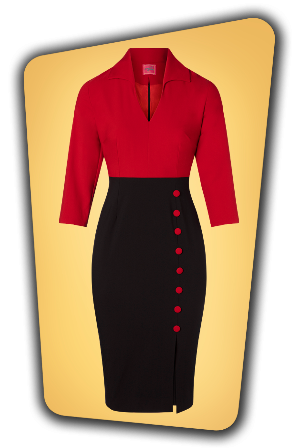 Glamour Bunny_29283_Damcy Pencil Dress in Red_20190328_003