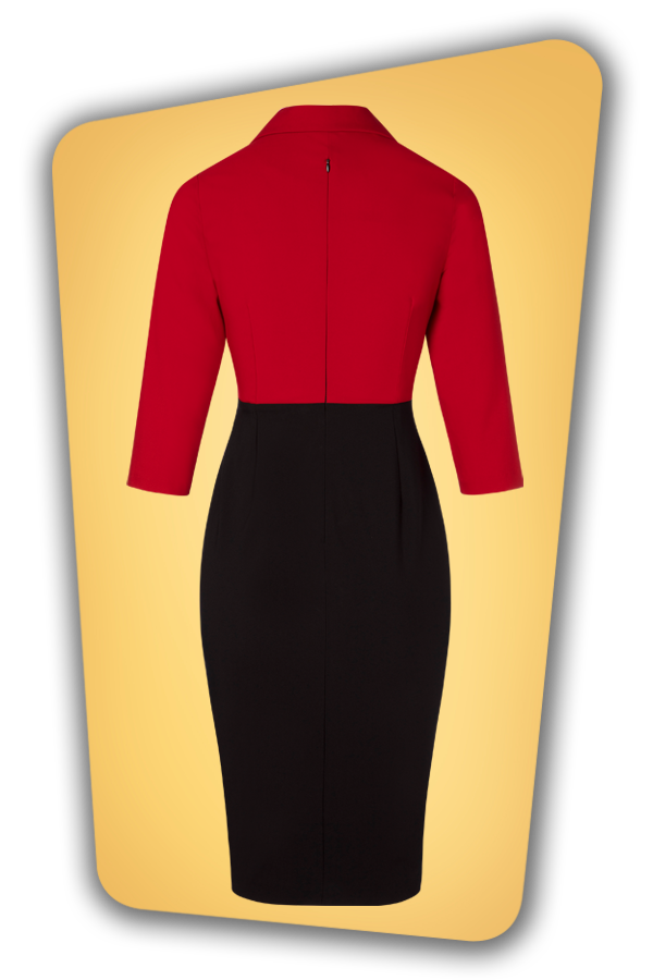 Glamour Bunny_29283_Damcy Pencil Dress in Red_20190328_010