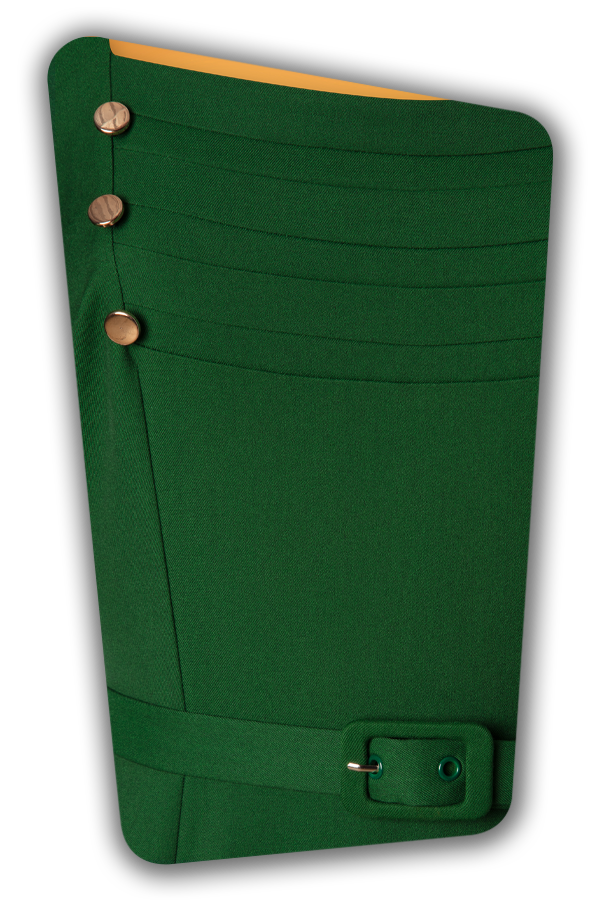 Glamour Bunny_29287_Raven Pencil Dress in Green_20190408_006