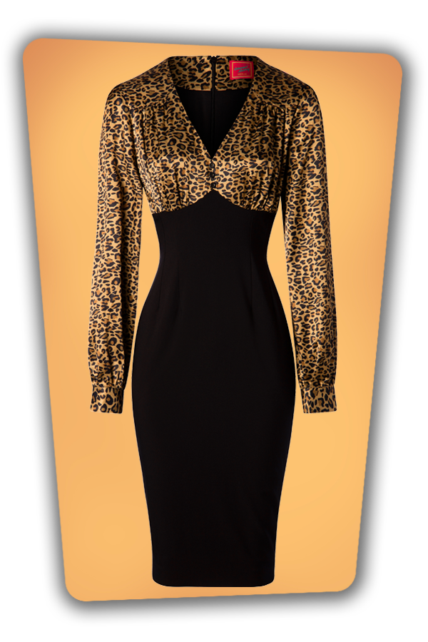 Glamour Bunny_29291_Harriet Pencil Dress in Leopard_20190408_002W