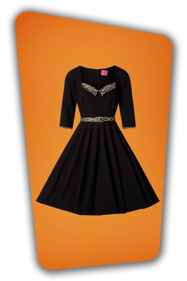 Glamour Bunny_29294_Harley Swing Dress in Black_20190410_004W