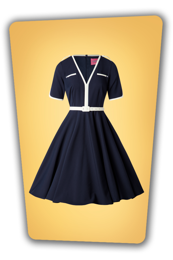 Glamour Bunny_29297_Demi Swing Dress in Navy_20190410_010