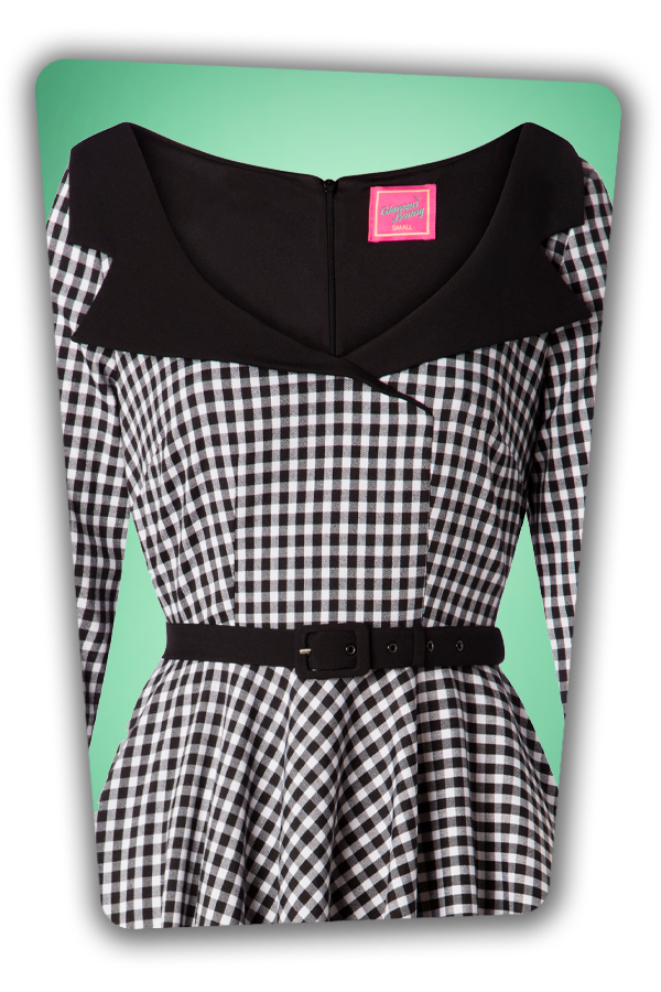 Glamour Bunny_29298_Britt Swing Dress in Gingham_20190410-003V