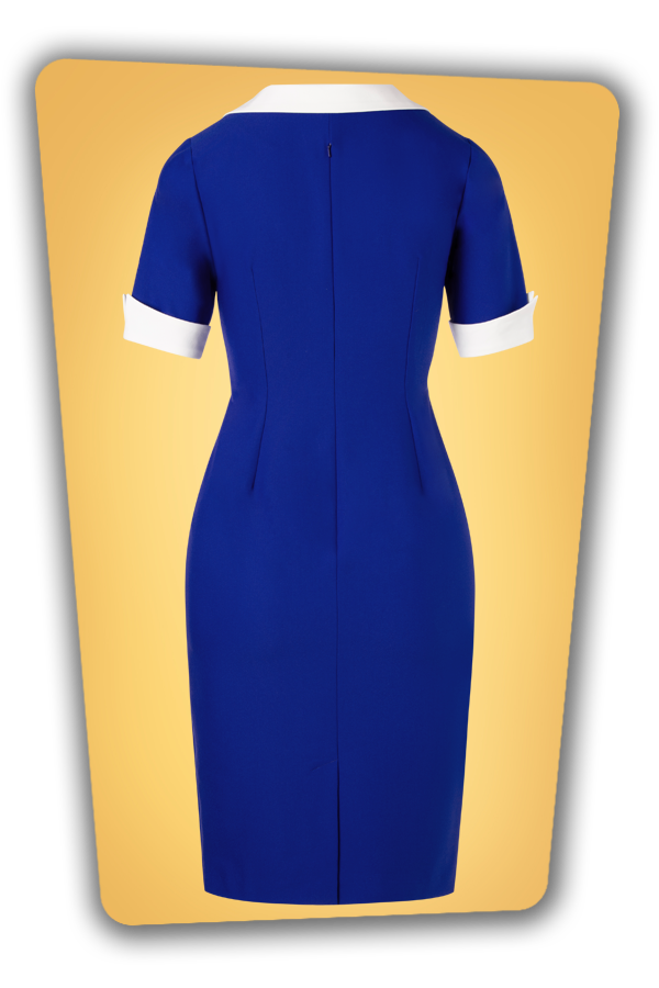 Glamour Bunny_32863_Janice Pencil Dress Blue_20191204_009