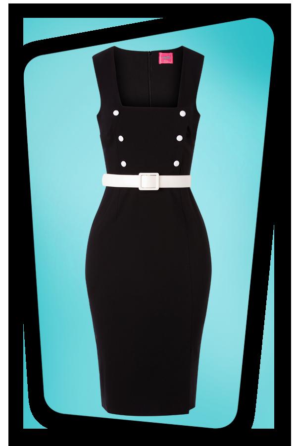 Glamour Bunny_32864_Cyd Pencil Dress Black_20190703_004