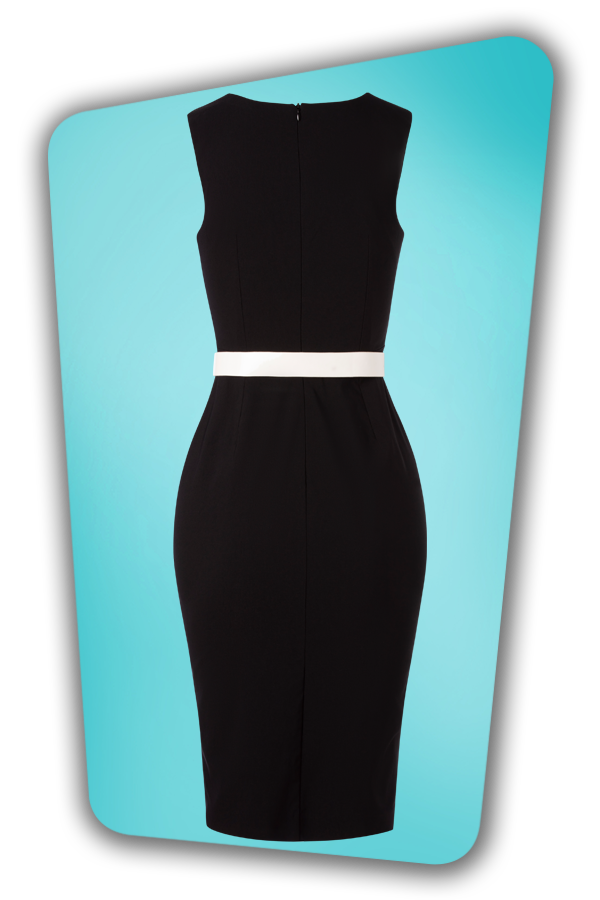 Glamour Bunny_32864_Cyd Pencil Dress Black_20190703_009