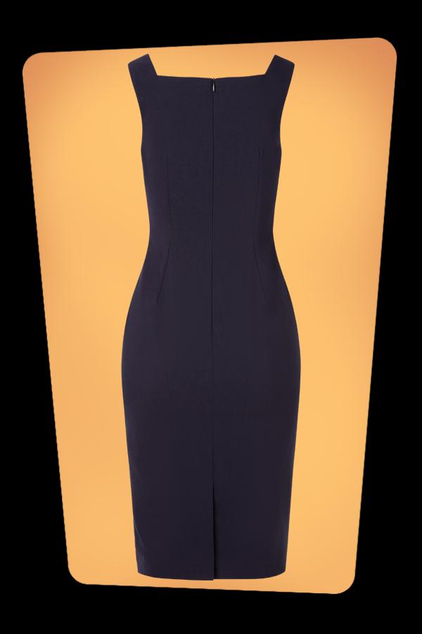 Glamour Bunny_32865_Marine Pencil Dress Navy_20190703_009