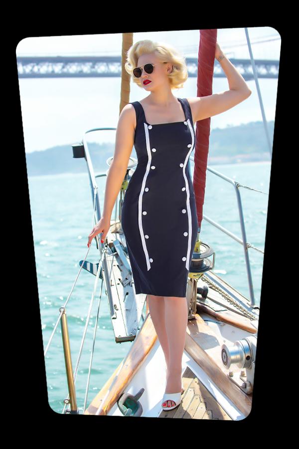 Glamour Bunny_32865_Marine Pencil Dress Navy_20190703_040
