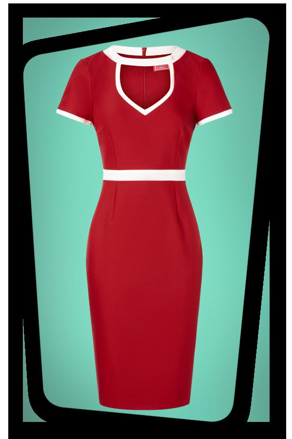 Glamour Bunny_32866_Hazel Pencil Dress Red_20191204_007