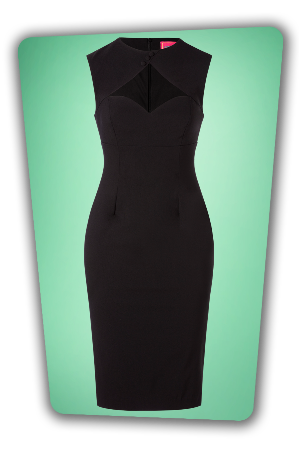 Glamour Bunny_32870_Selena Pencil Dress Black_20191205_003