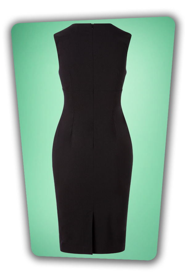 Glamour Bunny_32870_Selena Pencil Dress Black_20191205_009
