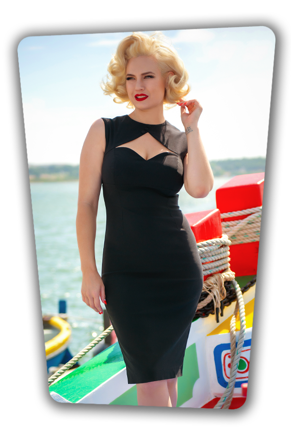Glamour Bunny_32870_Selena Pencil Dress Black_20191205_041