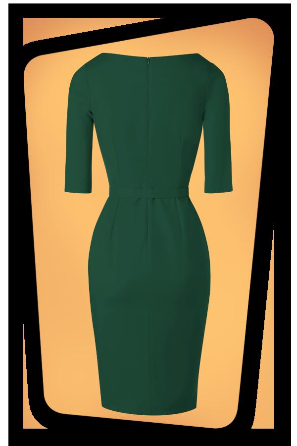 Glamour_Bunny_34716_Aviva Pencil Dress in Green_20191211_011