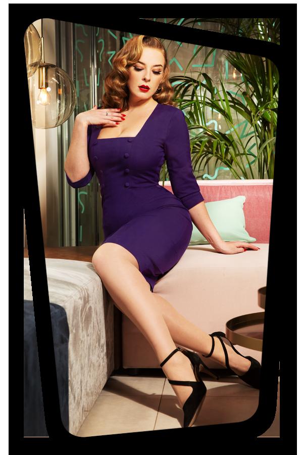 Glamour_Bunny_34718_Nicole Pencil Dress in Purple_20200107_0052