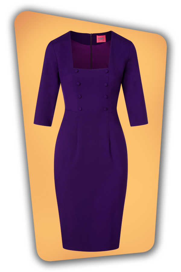 Glamour_Bunny_34718_Nicole Pencil Dress in Purple_20200525_006