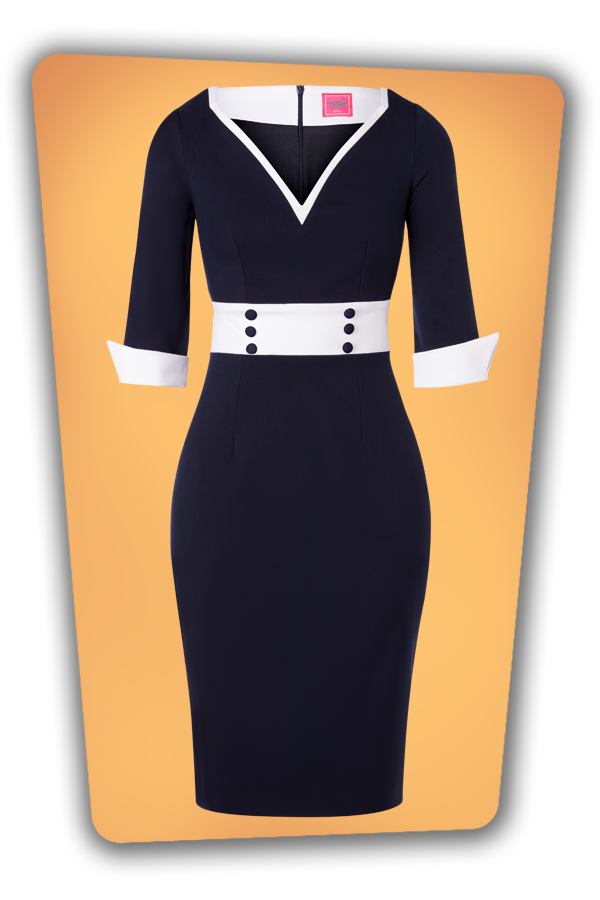 Glamour_Bunny_34719_Margie_Pencil_Dress_Navy White_20191211_009