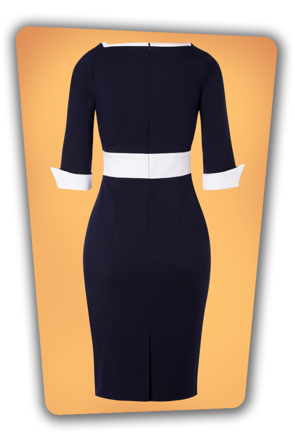 Glamour_Bunny_34719_Margie_Pencil_Dress_Navy White_20191211_012
