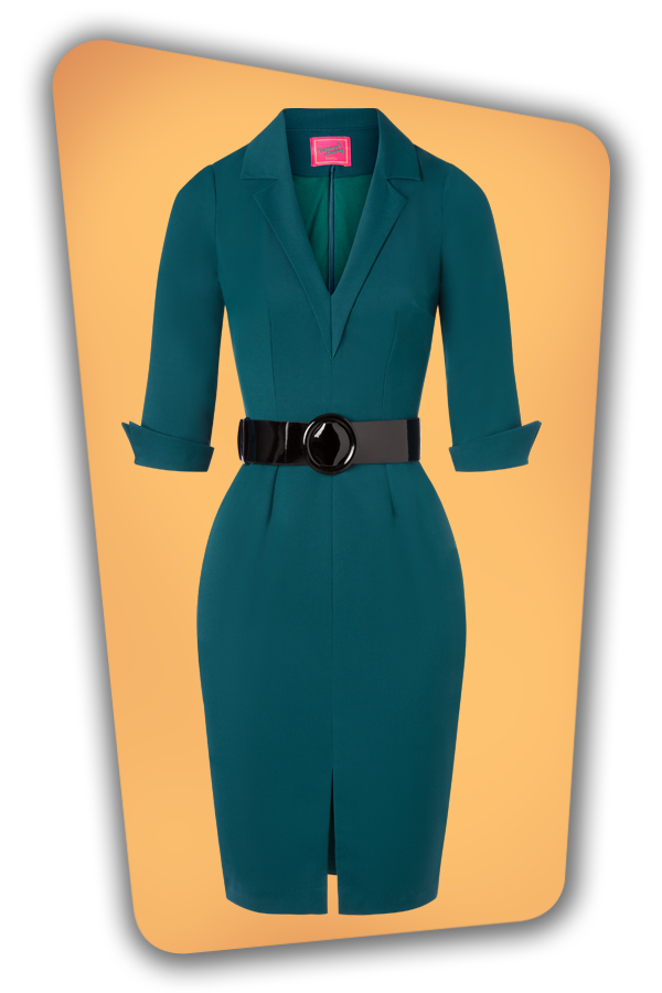 Glamour_Bunny_34726_Yade Pencil Dress_Green_20191211_002