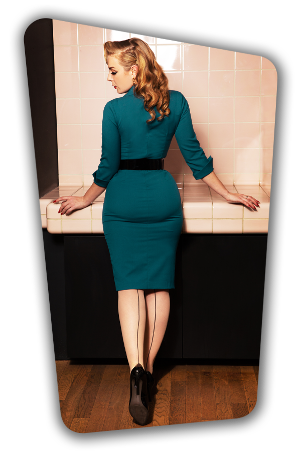 Glamour_Bunny_34726_Yade Pencil Dress_Green_20200107_0037