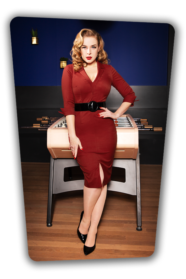 Glamour_Bunny_34727_Yade Pencil Dress in Red_20200107_0108