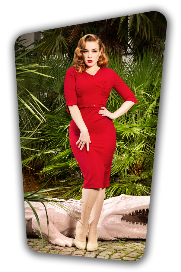 Glamour_Bunny_34728_Vive Pencil Dress_Red_20200107_0030